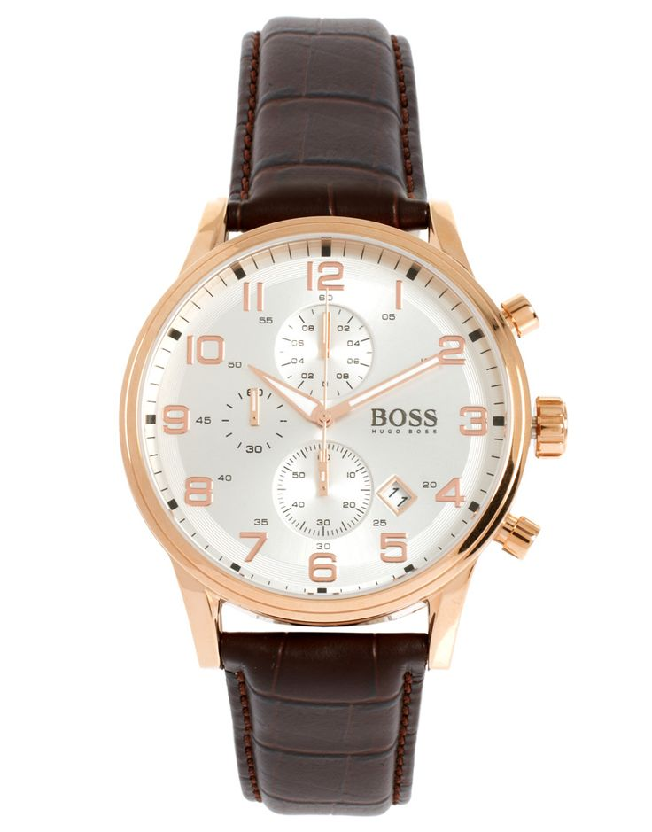 how to change time on hugo boss watch