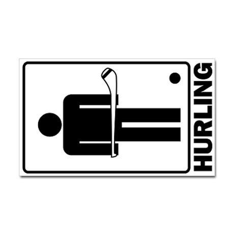 Hurling Decal