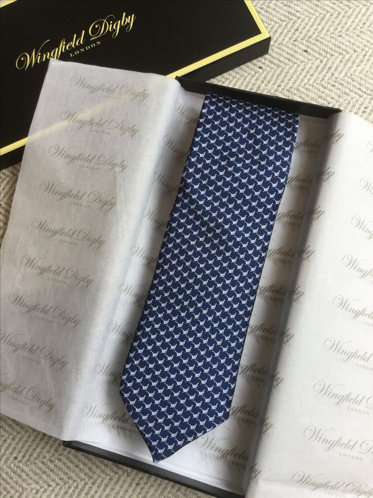 Unboxing limited edition silk tie