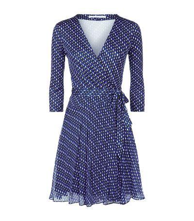 Diane Von Furstenberg Irina Wrap Dress | Harrods