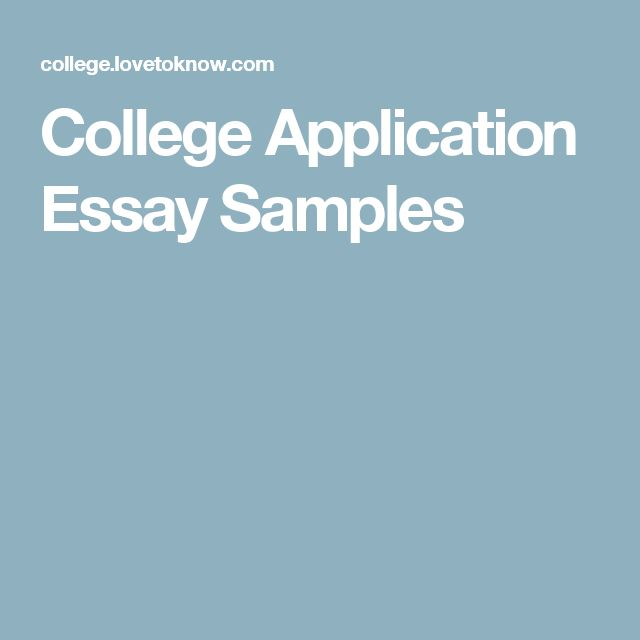 University Entrance Essay Examples 14 Best College Application Help Images On Pinterest  College