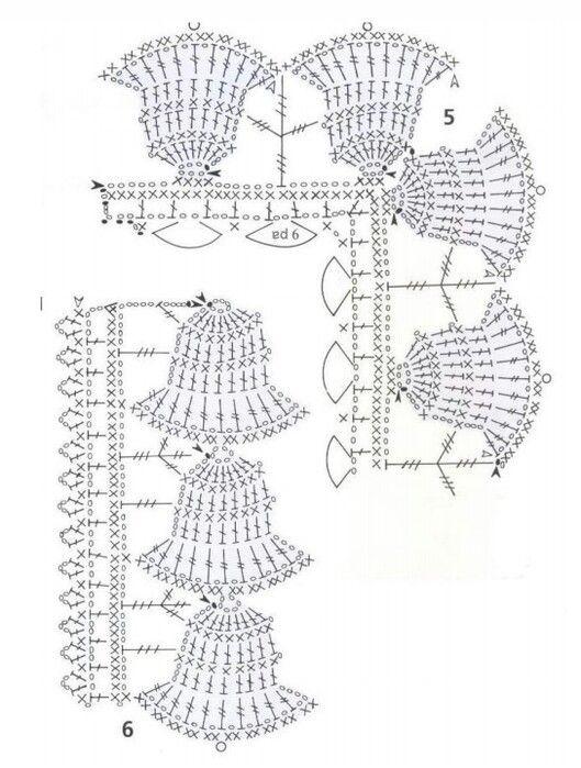 25 best bordes crochet images on pinterest