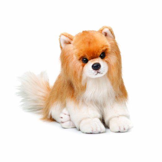 Amazon.com: Nat and Jules Plush Toy, Pomeranian Large: Toys & Games