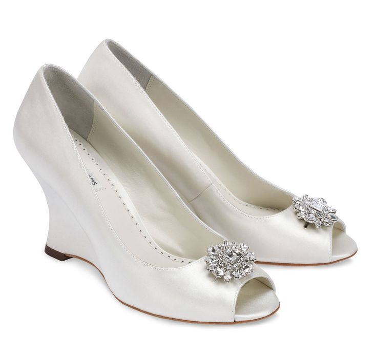 HELEN Helen Benjaminadams Shoestodyefor Dyeableshoestore Weddingshoes Weddingwedges Bridalshoes