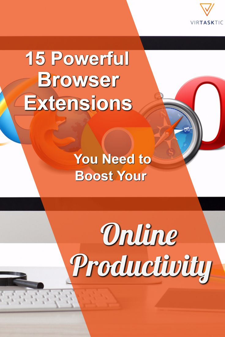 15 Powerful Browser Extensions You Need to Boost Your Online Productivity - As the owner of a business, you likely spend the better part of your work day on your computer – responding to emails, updating social media, tracking website performance, downloading content, uploading blog posts, and filling online forms. One way to save yourself time and make your work day more efficient is to optimize that time you are spending online. Thankfully, there are a ton of tools that allow you to do…