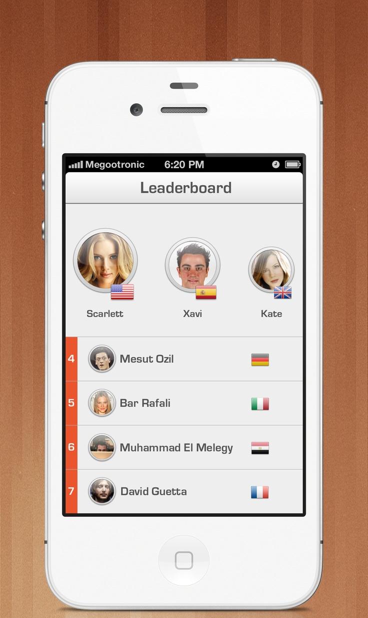 Mobile App design #ui #interface #iphone #design