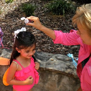 "Tinkerbell Party - Party Games - Party guests earn their wings by saying, ""I believe in fairies"" three times. After putting on their wings sprinkle pixie dust on their head..."