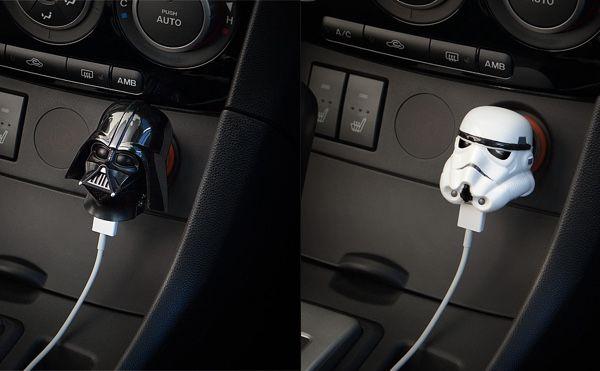Dark Side USB Car Chargers