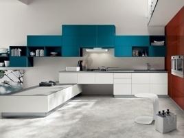 Tetrix di Scavolini, mobili e componenti studiati per ottimizzare gli spazi e la facilità di lavoro | Viver La Casa