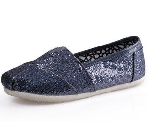 Toms Glitter Women Shoes Iron-grey [tomsonlinefactory 062] - $17.49 : Cheap Toms Stripe shoes for Men and Women Sale