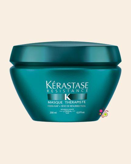 KERASTASE Resistance Masque Therapiste Kalın Telli Aşırı Yıpranmış ve İşlem Görmüş Saçlar İçin Onarıcı Maske [3,4] 200 ml