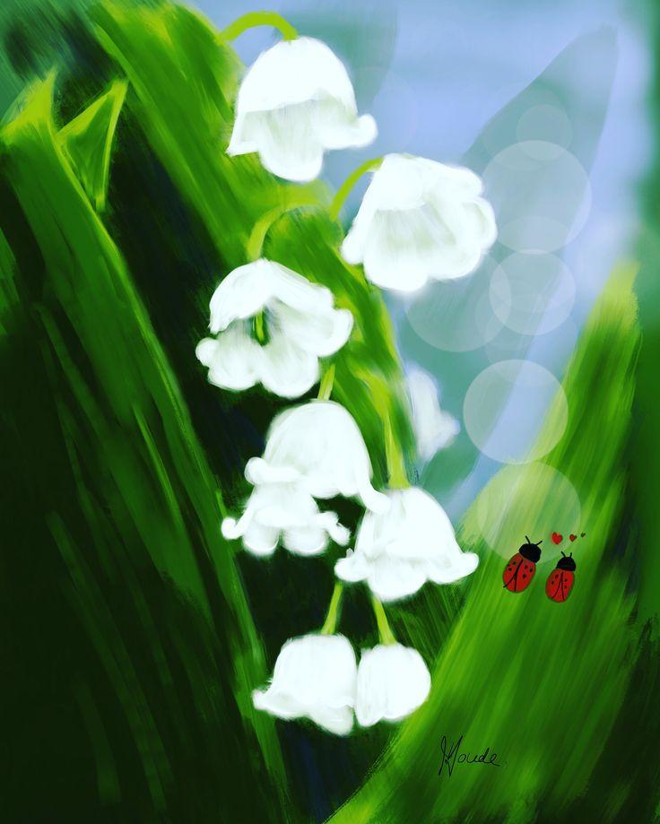 Fleurs de Muguet ,
