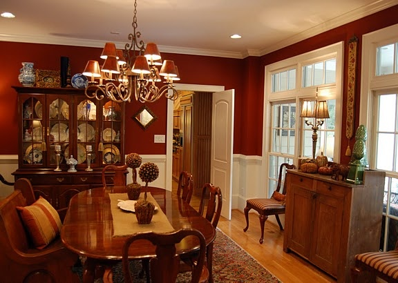 1000 ideas about red dining rooms on pinterest red rooms red walls and apartment bedroom decor - Red dining room color ideas ...