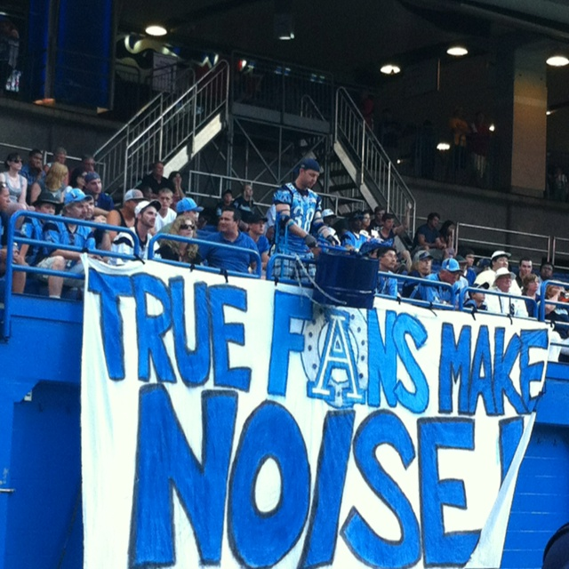 Loud Argo Endzone Drum guy lives in Section 118. Can you be just as loud as him on gameday?