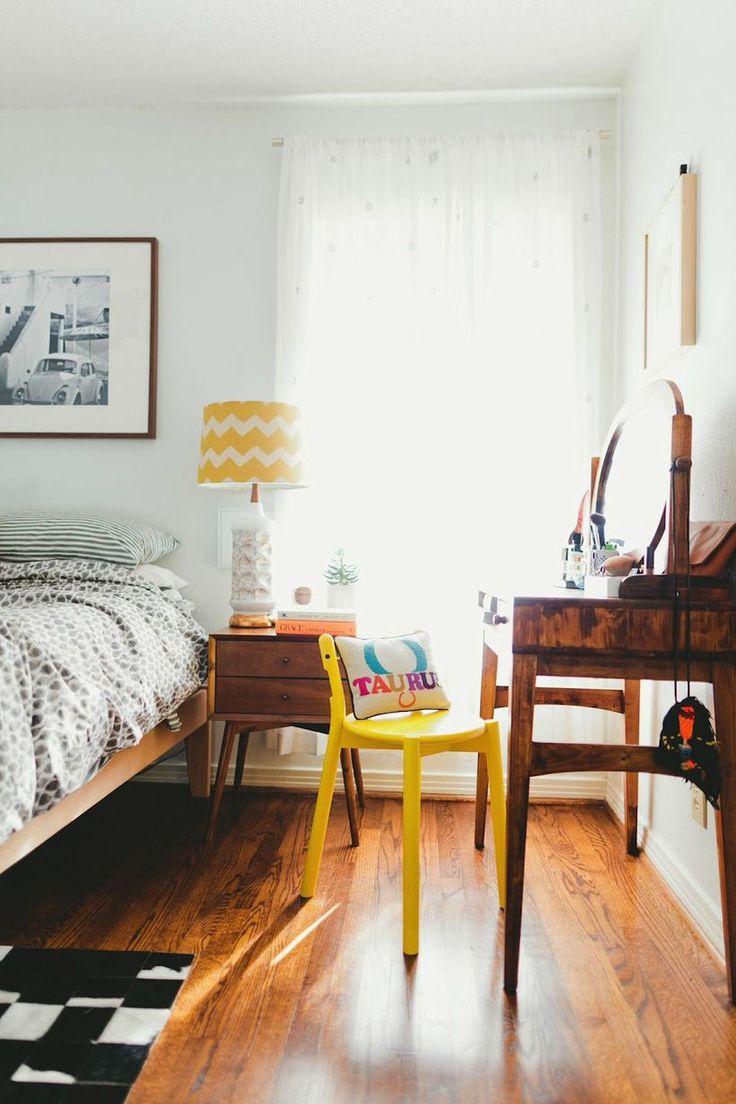 midcentury modern bedroom / vanity