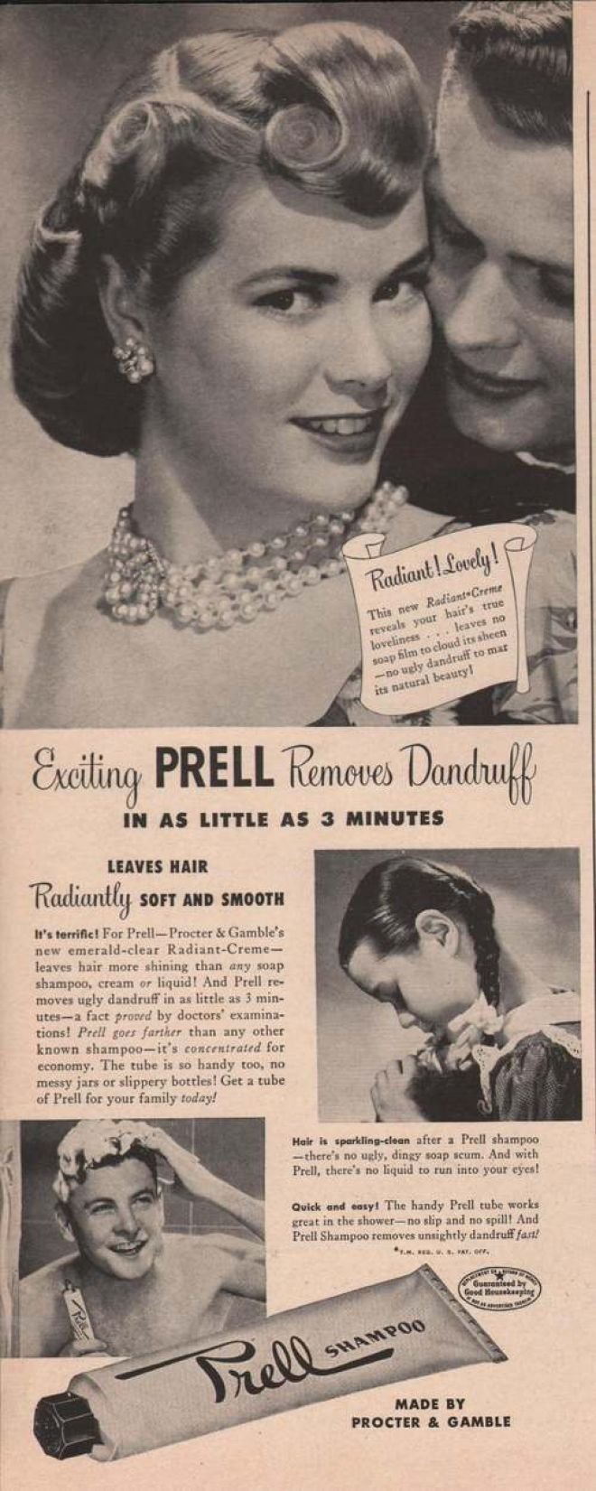 vintage beauty ads with celebrities | Vintage Beauty and Hygiene Ads of the 1940s (Page 92)