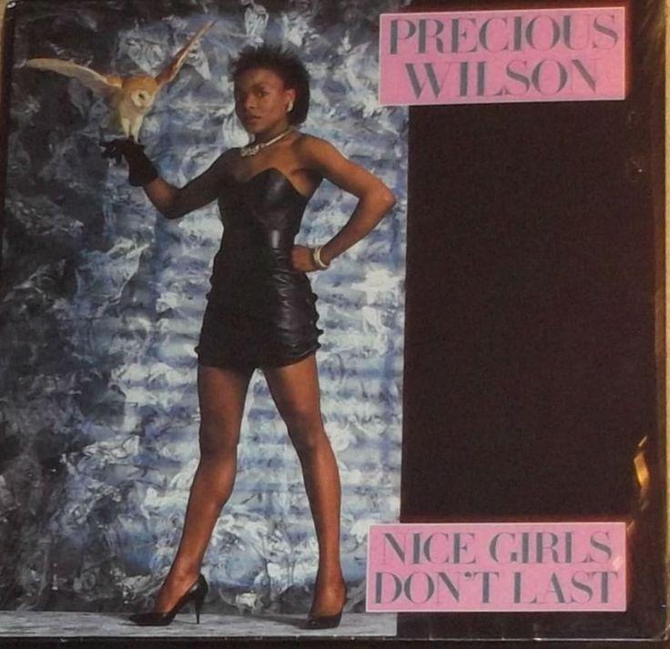 "Precious Wilson Nice Girls Don't Last Sealed Vinyl Funk Disco 12"" Record Album by RASVINYL on Etsy"