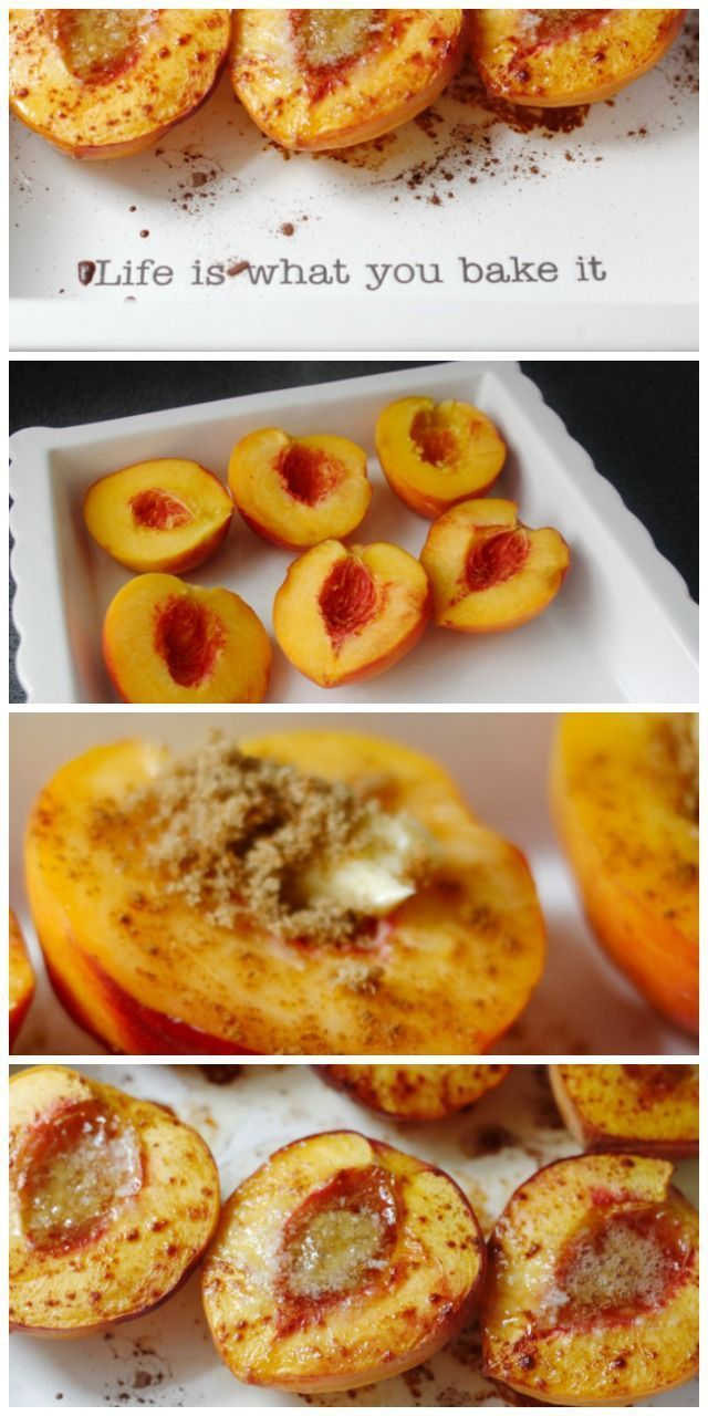 These are DELICIOUS! Can't wait to make more cinnamon baked peaches.