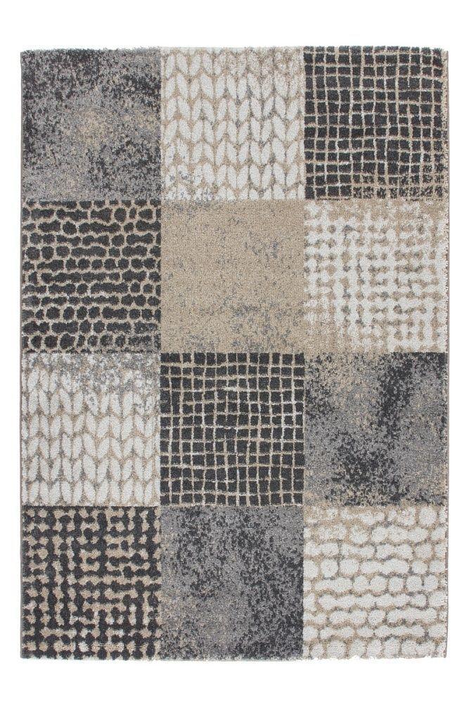 Patchwork Teppich Grau Vintage Teppich Flickenteppich Modern Blickfang Günstig in Möbel & Wohnen, Teppiche & Teppichböden, Teppiche | eBay!