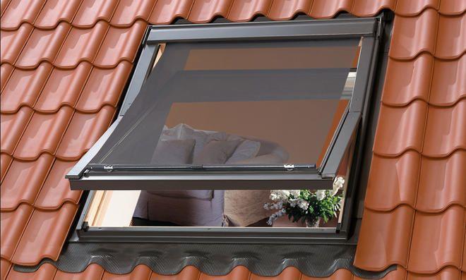 Hitzeschutz Markise Dachfenster Selbst De Dachfenster Dachflachenfenster Rollladen