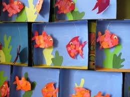 poissons 3D maternelle - Recherche Google