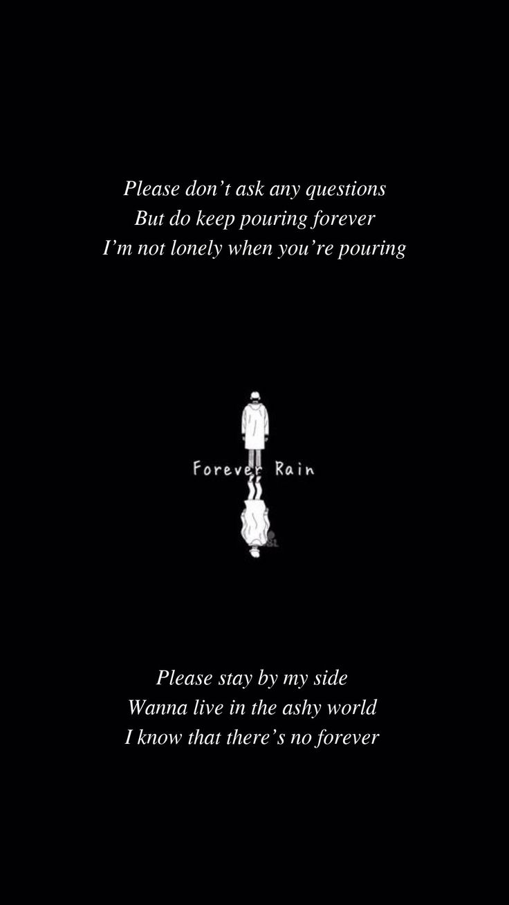 Forever Rain by BTS RM Lyrics wallpaper Follow my …