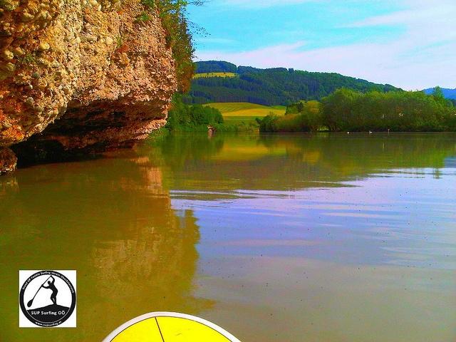 SUP spotwatch - Lahrndorf - river ENNS in Upper Austria