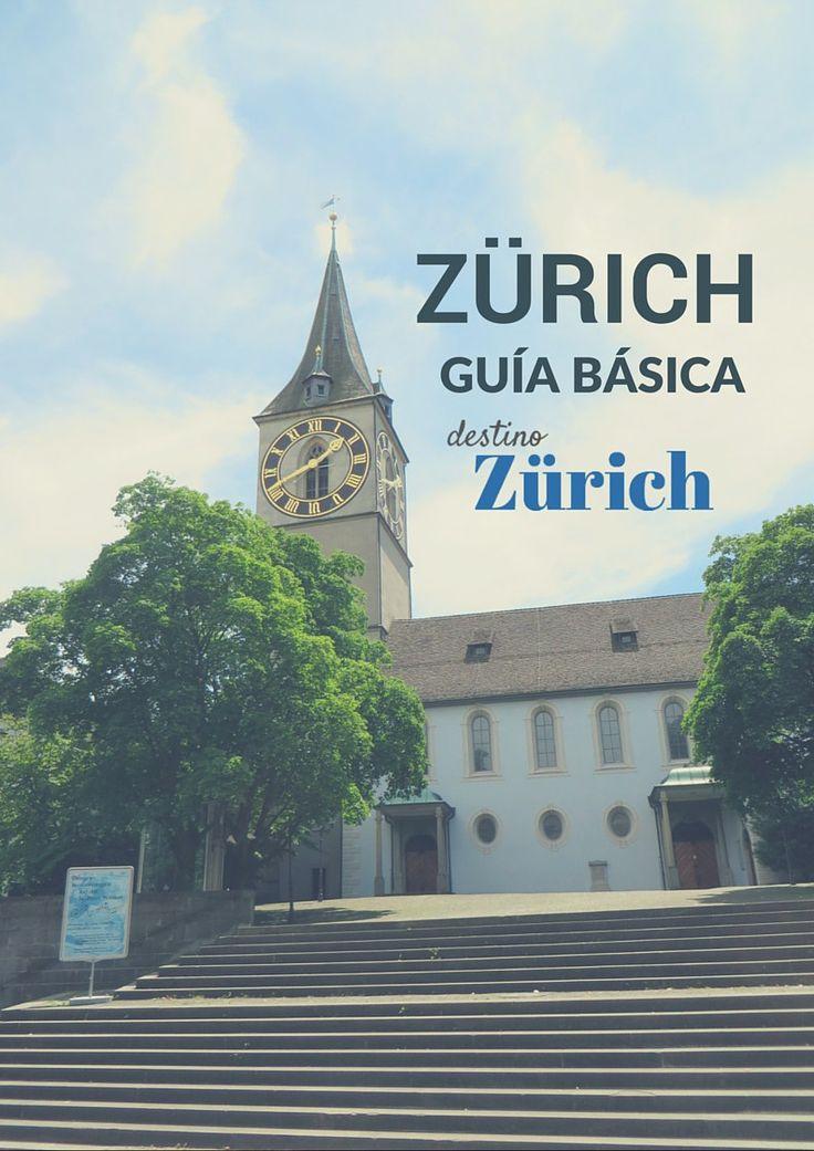 Zürich es una ciudad en la que podrías quedarte toda una vida...Pero si solo tienes un par de días, aquí va nuestra guía de dos días en Zürich!
