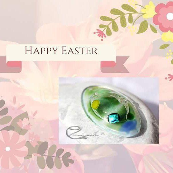 Happy Easter   Deer friends  #happyeaster #czinamonglassart #czinamon #egg #fashion #jewelry #happy #spring #designer #flowers #instagood #instalike #pic #feelgood #fan #hungary #unique #friends #christian #love #iloveyou #pendant #peace #calm #anima #soul  #spirit