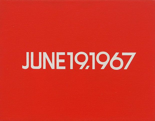 On Kawara - June19.1967, from the 'Today Series' (1966 - 2014)