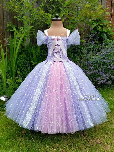 Disney+Rapunzel+verheddert+inspiriert+Glitzer+von+BloomingTutusUK
