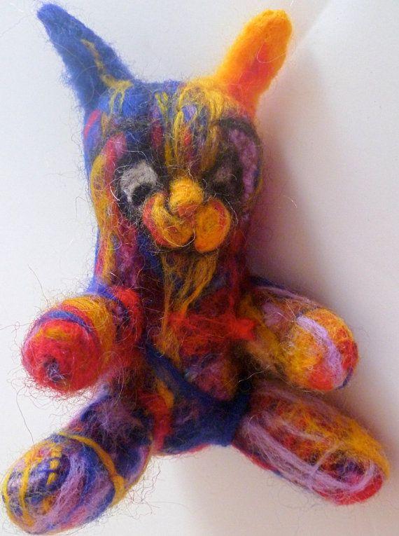 Easter Bunny Rabbit by CarleysCornerStudio on Etsy, $65.00