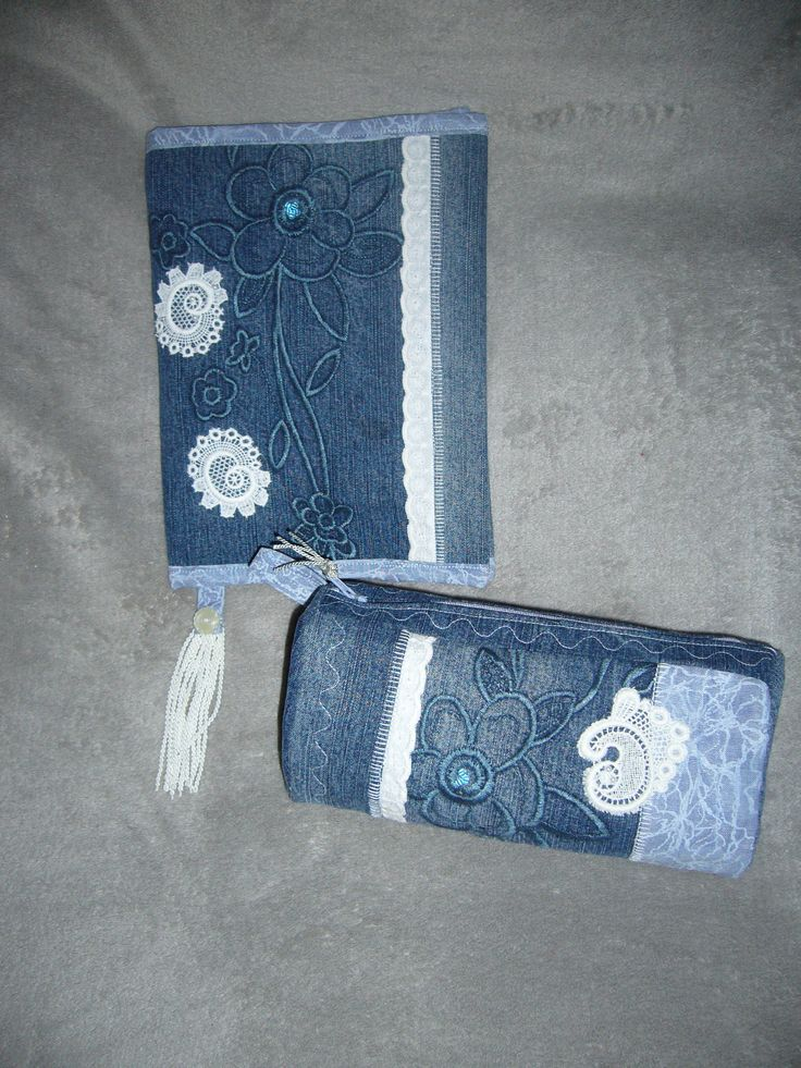 obal na knihu dárek  jeans