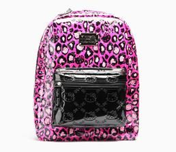 Hello Kitty Backpack: Pink Leopard