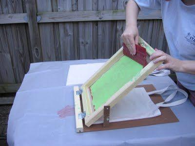 screen printing tutorial