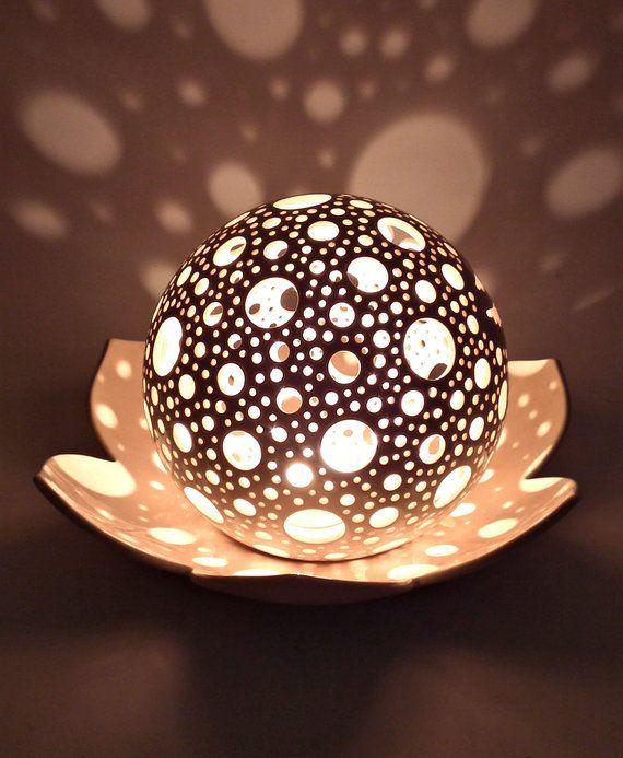 Lotus Kerzenhalter Hochzeit Tischdekoration Keramik Laterne Lotus Blumendekor Yoga Meditation Kerze Teelichthalter 9th Anniversary Gif   – Gartenkugel