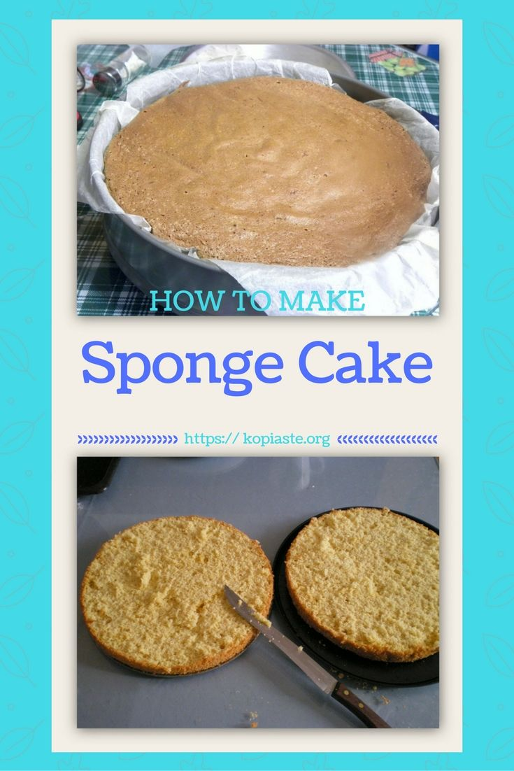 Sponge Cake (pantespani, in Greek) is the base for many desserts. Using this basic recipe you can make birthday cakes but also many other desserts. #Sponge_cake #how_to_make_sponge #pantespani #cakes #birthdaycake #roulades #kopiaste