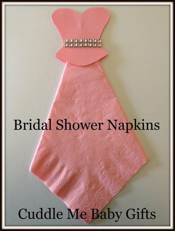 Bridal Shower Wedding Dress Bling Bridal by CuddleMeBabyGifts @etsy @MarthaWeddings @brides @theknot