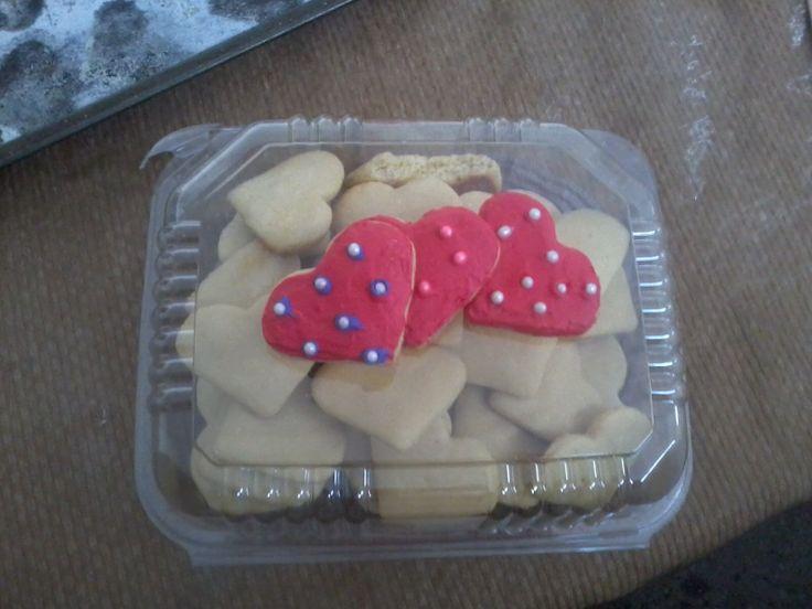 Galletas de Mantequilla.