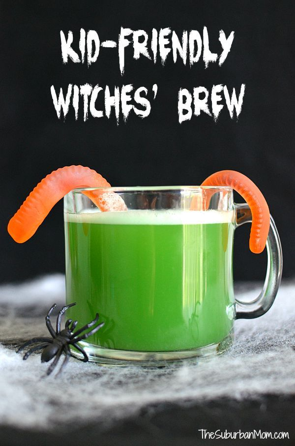 Kid Friendly Witches 39 Brew Halloween Punch Sweet