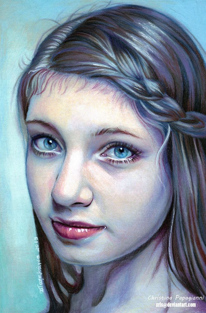 Best Portraits Colored Pencil Images On Pinterest Painting - Artist uses pencils to create hyperrealistic drawings of paint