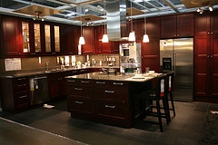 pretty: Kitchens Remodel, Future Houses, Kitchens Design, Dreams Houses, Indoor Spaces, Kitchens Ideas, Houses Ideas, Redo Magic, Ramsjo Red Brown