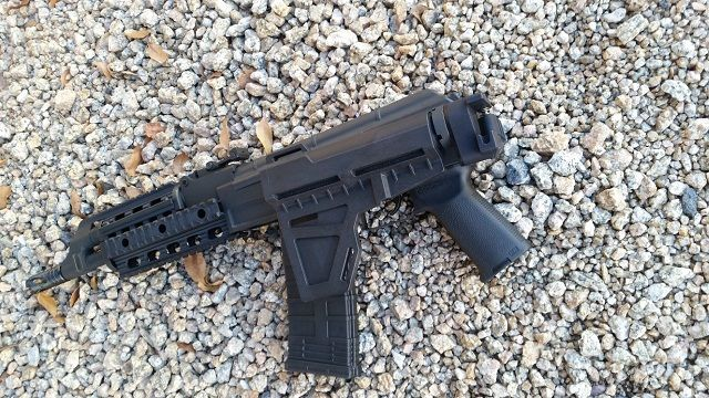 *Adapter with Upgraded Folding Adapter and Shockwave Blade Pistol Stabilizer for the Century Arms C39 Pistol