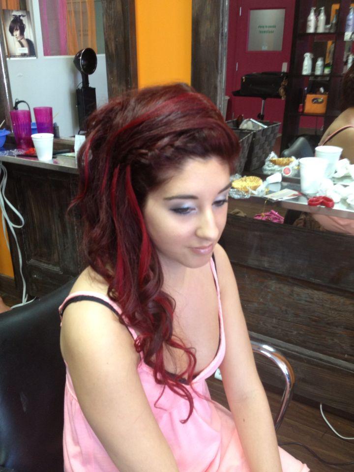 Hair #hair #red #coiffure