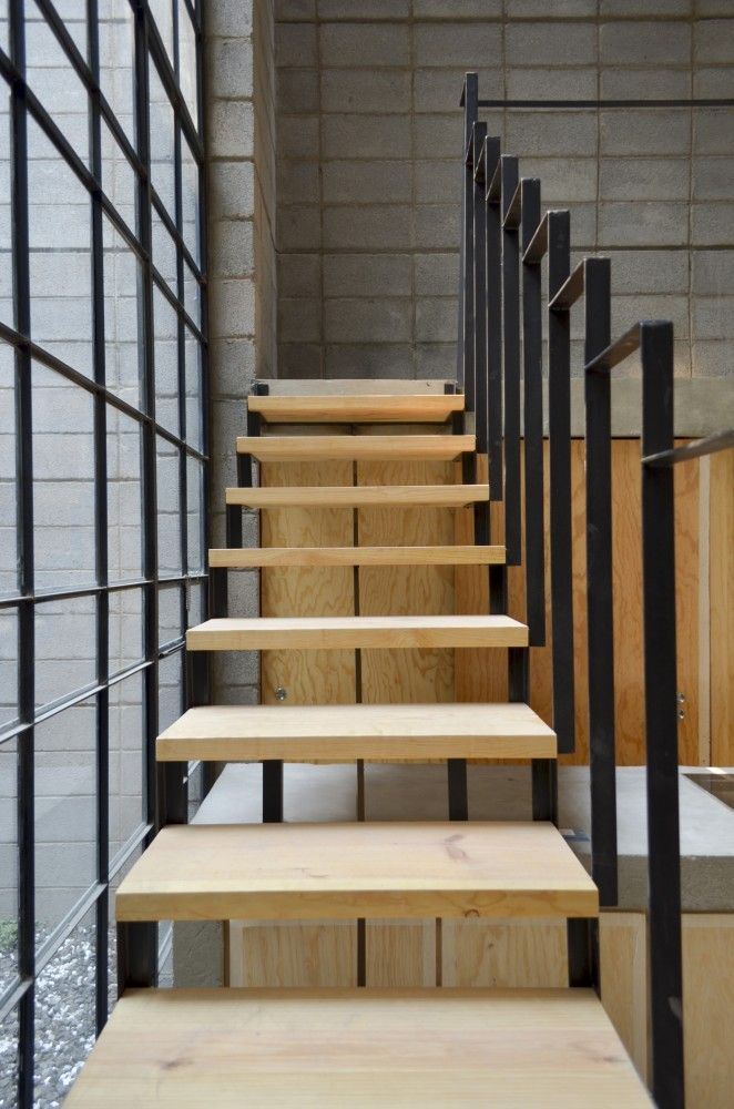 312 best images about escaliers stairs i on pinterest wooden staircases - Escalier moderne metal ...