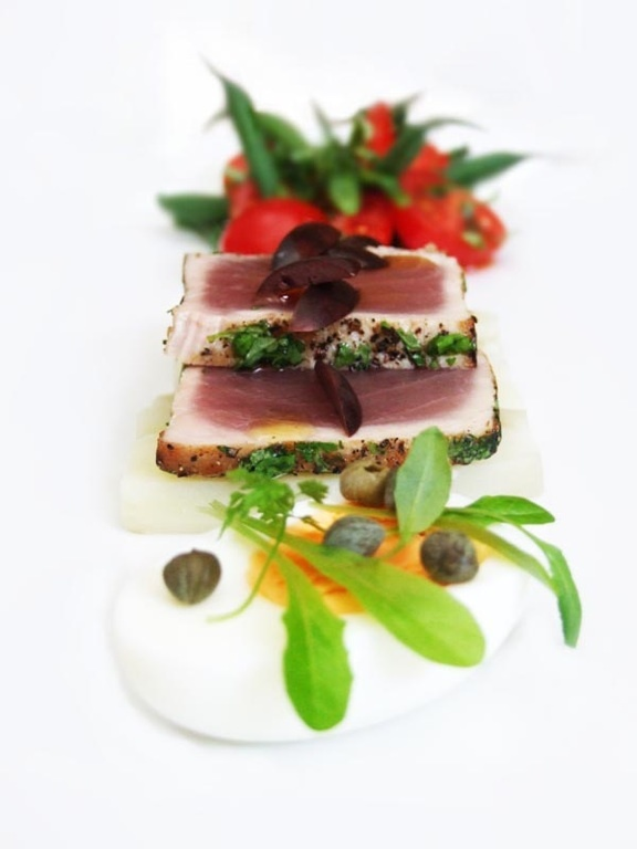 Tuna Nicoise by Cumbria Foodie