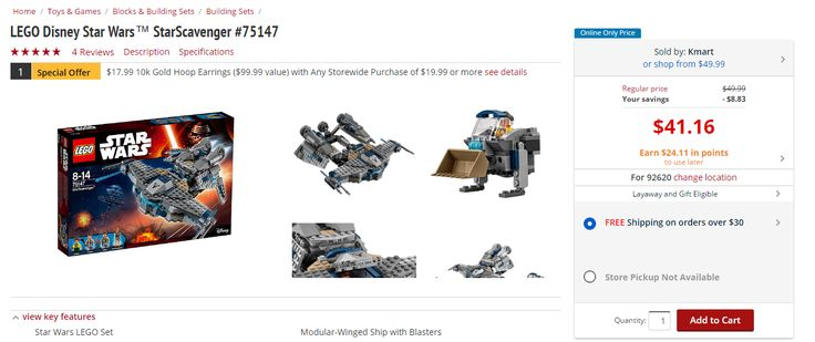 LEGO Creator & Disney Sets are on Sale for $40  Get $24 back as rewards (Shop Your Way Members) #LavaHot http://www.lavahotdeals.com/us/cheap/lego-creator-disney-sets-sale-40-24-rewards/193982?utm_source=pinterest&utm_medium=rss&utm_campaign=at_lavahotdealsus