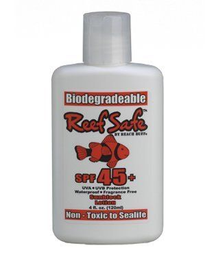 Reef Safe Biodegradable Waterproof SPF 45+ Sunscreen Lotion by Reef. $6.45