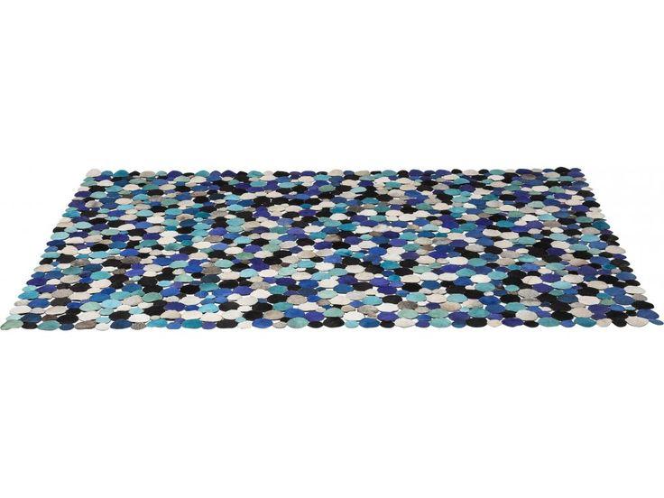 Dywan Circle III niebieski — Dywany Kare Design — sfmeble.pl