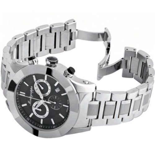 Montegrappa NeroUno Lifestyle Steel Black Chronograph Watch https://www.carrywatches.com/product/montegrappa-nerouno-lifestyle-steel-black-chronograph-watch/ Montegrappa NeroUno Lifestyle Steel Black Chronograph Watch  #Chronographwatch